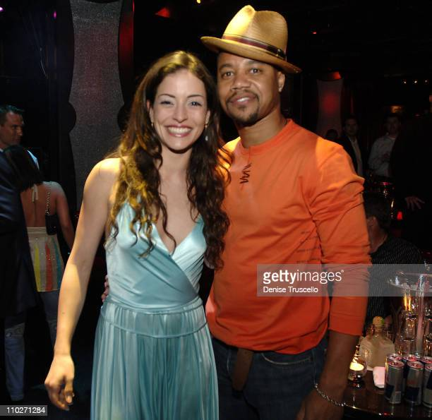 Emmanuelle Vaugier and Cuba Gooding Jr during Maxim 100th Issue Weekend Party Inside at Wynn Las Vegas Club Tryst in Las Vegas Nevada