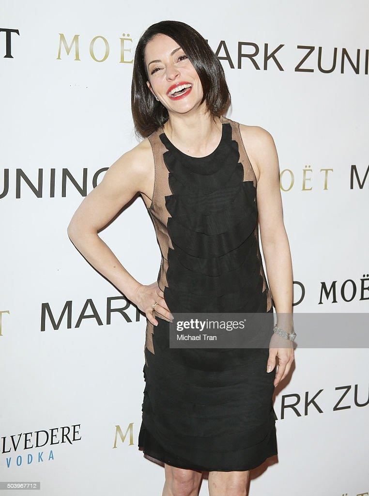Emmanuelle Vaugier arrives at Mark Zunino Atelier opening held on January 7, 2016 in Beverly Hills, California.