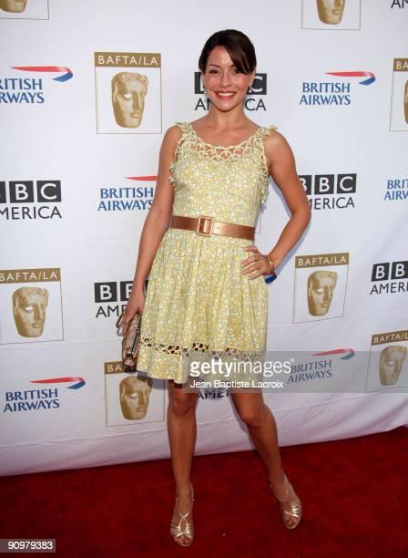 Emmanuelle Vaugier arrives at the BAFTA LA's 2009 Primetime Emmy Awards TV Tea Party at InterContinental Hotel on September 19, 2009 in Century City,...