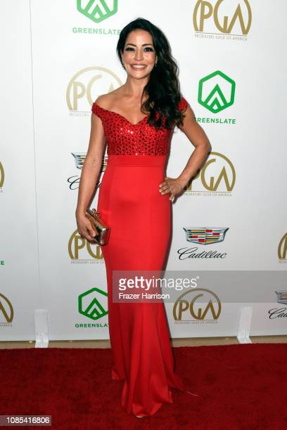 Emmanuelle Vaugier attends the 30th annual Producers Guild Awards at The Beverly Hilton Hotel on January 19, 2019 in Beverly Hills, California.