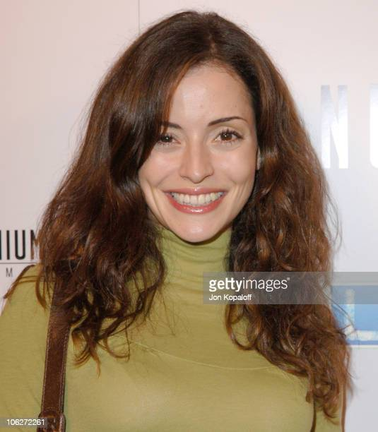 Emmanuelle Vaugier during 2005 MidAutumn Night's Dream at The Buffalo Club in Santa Monica California United States