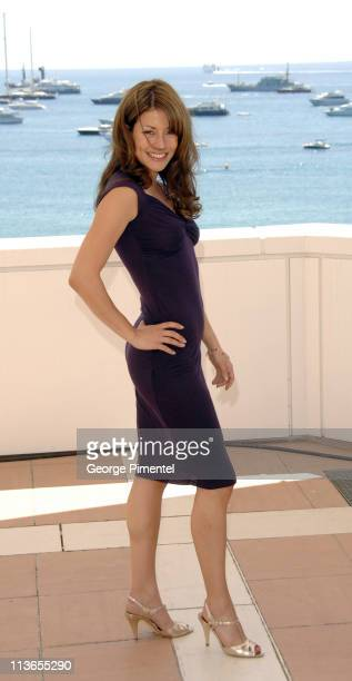 """Emmanuelle Vaugier during 2007 Cannes Film Festival - """"Blonde and Blonder"""" Photocall at Hilton Hotel in Cannes, France."""