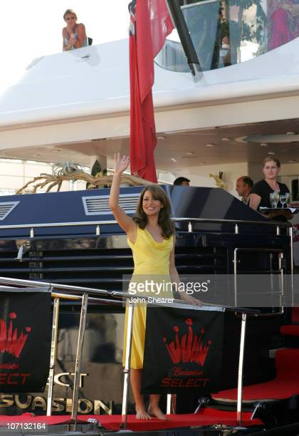"""Emmanuelle Vaugier during 2007 Cannes Film Festival - """"Blonde and Blonder"""" Party on the Budweiser Select Yacht at Budweiser Select Yacht in Cannes,..."""
