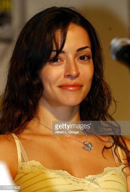 Emmanuelle Vaugier during 36th Annual Comic Con International Day Two at San Diego Convention Center in San Diego California United States