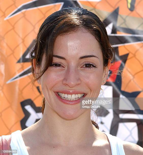 Emmanuelle Vaugier during 4th Annual Much Love Animal Rescue Bow Wow Ween at Barrington Dog Park in Brentwood California United States