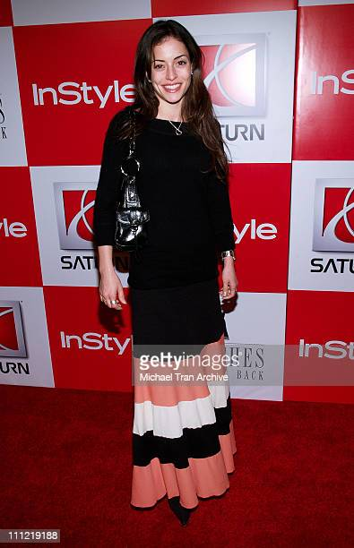 """Emmanuelle Vaugier during InStyle Presents """"Clothes Off Our Back"""" Charity Auction - Arrivals at Republic in Los Angeles, California, United States."""