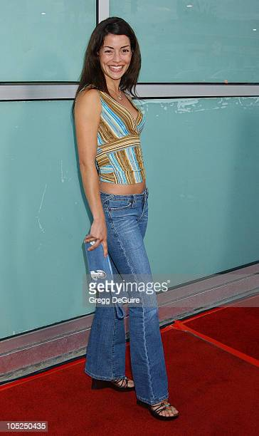Emmanuelle Vaugier during Los Angeles Premiere for Freddy Vs Jason Arrivals at Arclight Theatre in Hollywood California United States