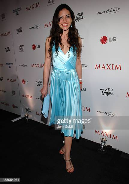 Emmanuelle Vaugier during Maxim 100th Issue Weekend Party Arrivals at Wynn Hotel Casino in Las Vegas Nevada United States