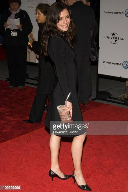 Emmanuelle Vaugier during Prime New York City Premiere Arrivals at Ziegfeld Theater in New York City New York United States