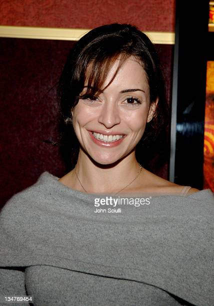 Emmanuelle Vaugier during Saw II Cast and Crew Screening Arrivals at Mann's Chinese Theater in Hollywood California United States