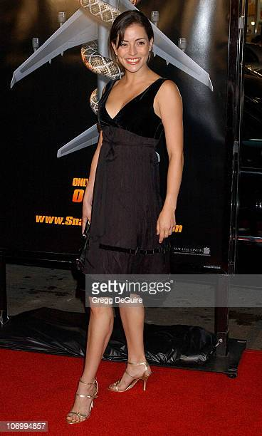 """Emmanuelle Vaugier during """"Snakes on a Plane"""" Los Angeles Premiere Sponsored by Palm - Arrivals at Grauman's Chinese Theatre in Hollywood,..."""