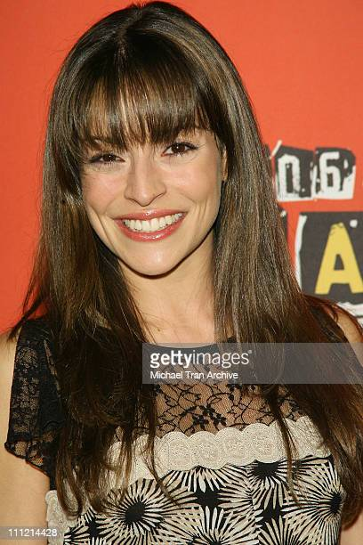 Emmanuelle Vaugier during Spike TV's 2006 Video Game Awards - Arrivals at The Galen Center in Los Angeles, California, United States.