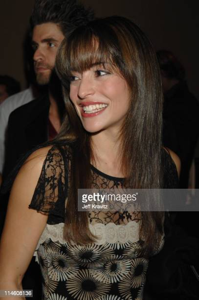 Emmanuelle Vaugier during Spike TV's 2006 Video Game Awards Hosted By Samuel L Jackson Backstage and Audience at The Galen Center in Los Angeles...