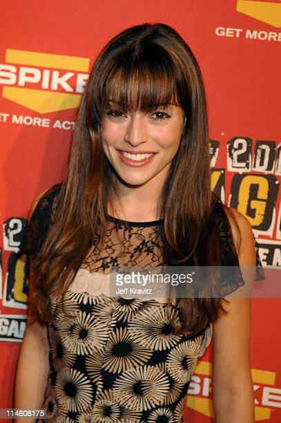 Emmanuelle Vaugier during Spike TV's 2006 Video Game Awards Hosted By Samuel L Jackson Red Carpet at The Galen Center in Los Angeles California...