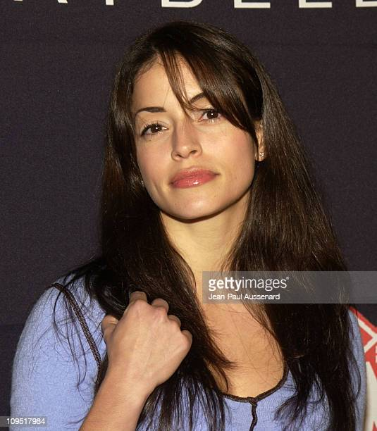 Emmanuelle Vaugier during Teen People and Universal Records Honor Nelly as the 2002 Artist of the Year Arrivals at Ivar in Hollywood California...