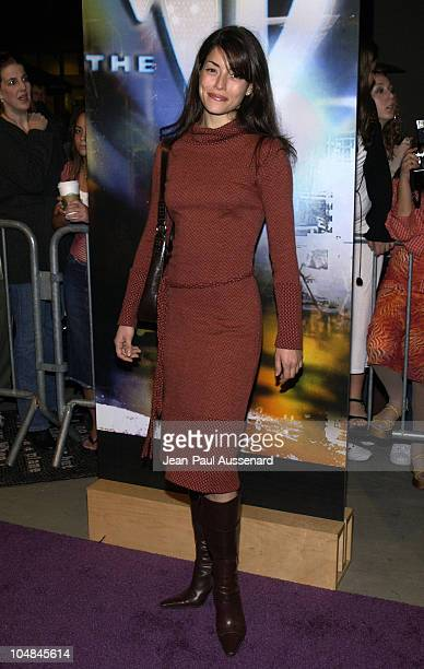 Emmanuelle Vaugier during The WB Network AllStar Celebration Arrivals at The Highlands in Hollywood California United States