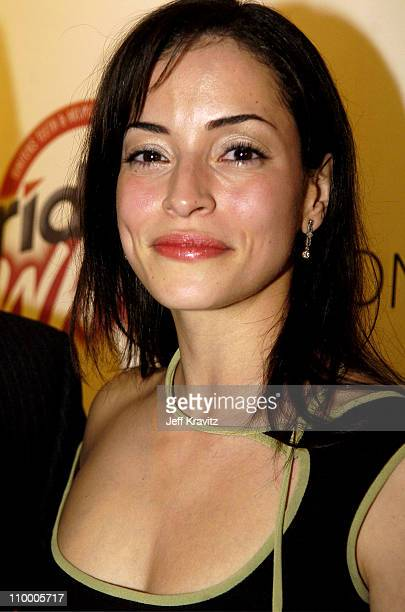 Emmanuelle Vaugier during Trident White Presents Black and White Party Hosted by McG and Stephanie Savage Benefitting Martin Scorsese's Film...
