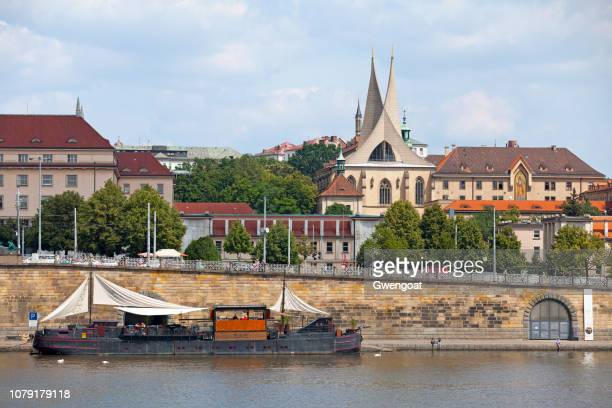 emmaus monastery in prague - gwengoat stock pictures, royalty-free photos & images