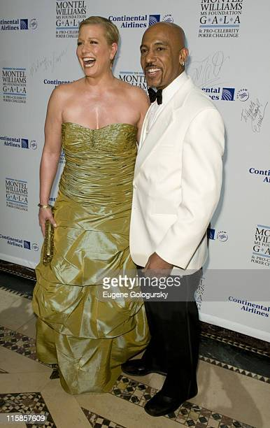 Emme and Montel Williams attend The Montel Williams MS Foundation Gala and ProCelebrity Poker Challenge at Cipriani on March13 2008 in New York City