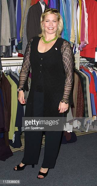03 Emme during Star Jones Emme Help Dress For Success Launch ' Thumbs Up Day ' Program at The Dress For Success Office in New York City New York...
