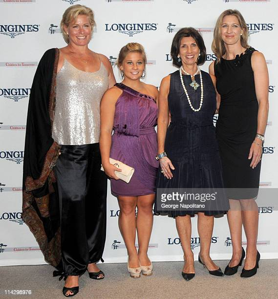 Emme Jacob Shawn JohnsonTown Country EditorinChief Pamela Fiori and Steffi Graf attend the Women Who Make a Difference Awards hosted by Longines and...