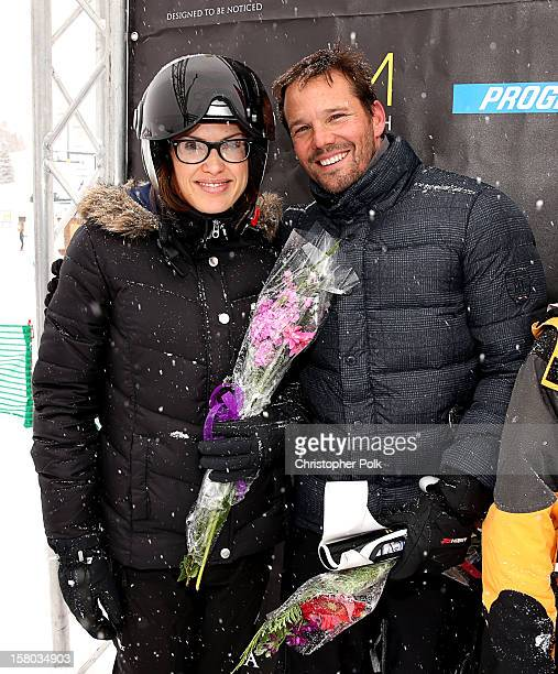 Emmeli Bruno and actor Dylan Bruno attend the Deer Valley Celebrity Skifest at Deer Valley Resort on December 9, 2012 in Park City, Utah.