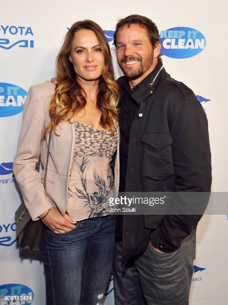 Emmeli Bruno and Dylan Bruno attend Keep it Clean to benefit Waterkeeper Alliance on March 1, 2018 in Los Angeles, California.