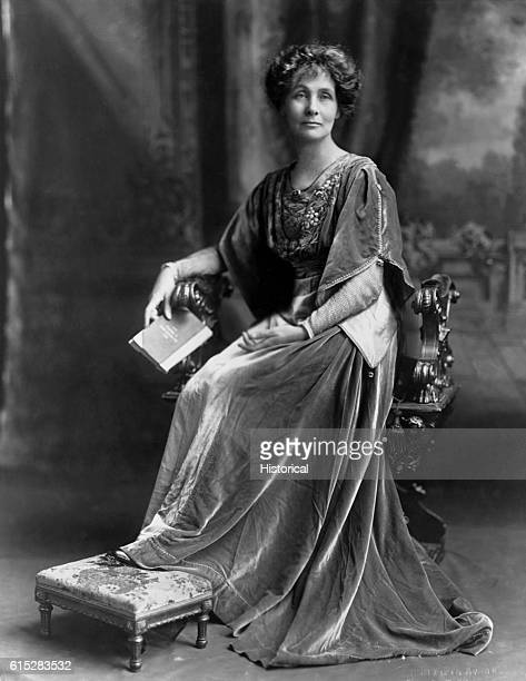 Emmeline Pankhurst English suffragette founded the Women's Franchise League in 1889 and the Women's Social and Political Union in 1903 with her...