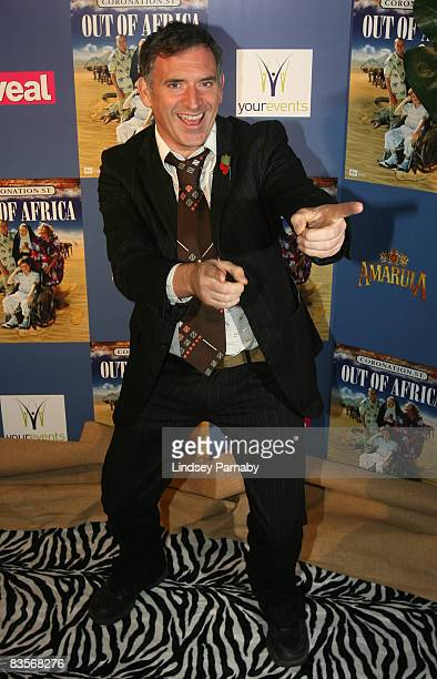 Emmerdale actor Tony Audenshaw arrives for the Coronation Street 'Out Of Africa' DVD Premiere at the Printworks on 04 November 2008 in Manchester...