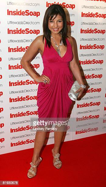 Emmerdale's Roxanne Pallett attends the Inside Soap Awards Launch Party at the John Street Hotel on July 14 2008 in Manchester England