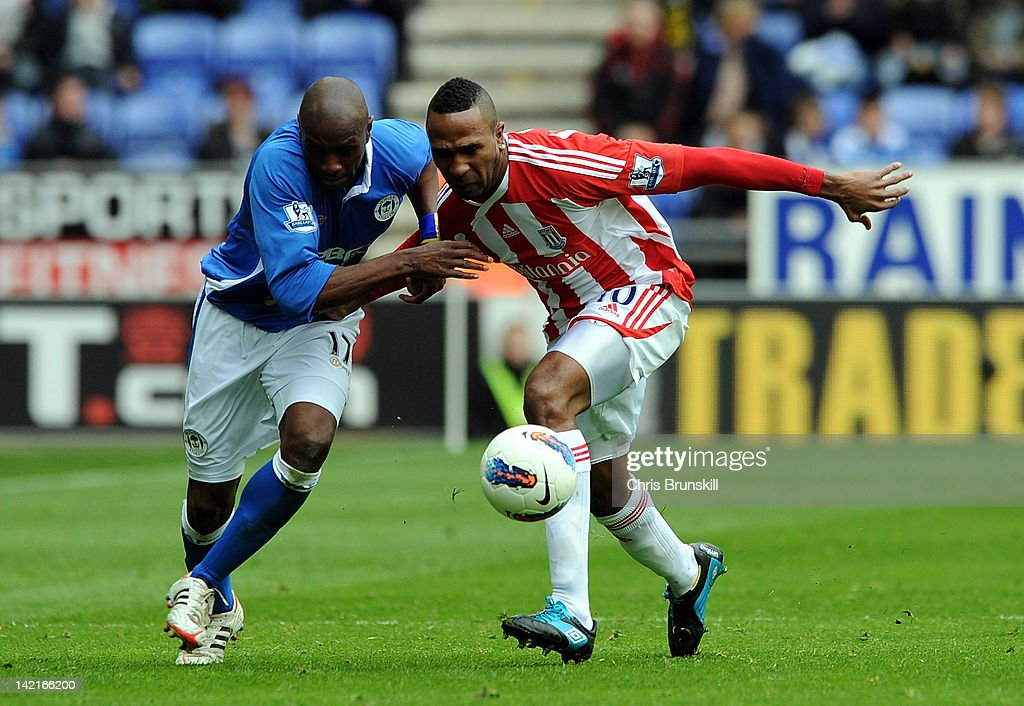 Wigan Athletic v Stoke City - Premier League