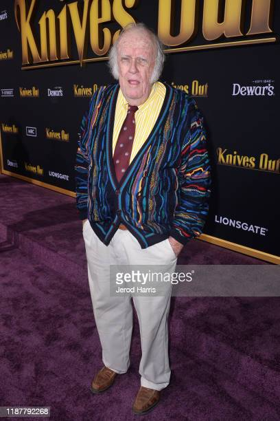 Emmet Walsh arrives at the Premiere of Lionsgate's 'Knives Out' at Regency Village Theatre on November 14 2019 in Westwood California