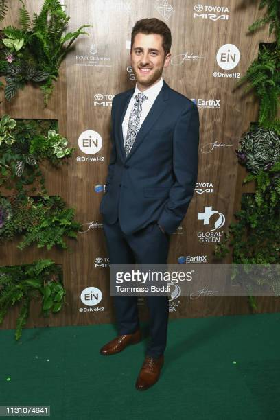 Emmett Sparling attends the Global Green 2019 PreOscar Gala at Four Seasons Hotel Los Angeles at Beverly Hills on February 20 2019 in Los Angeles...