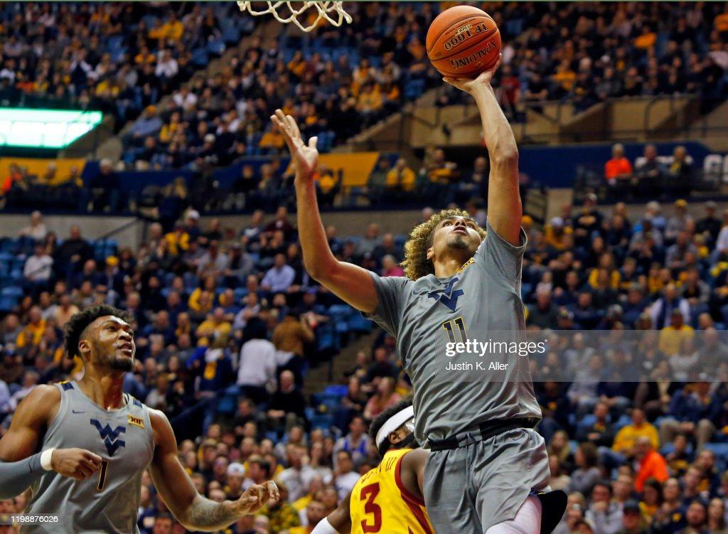 Iowa State v West Virginia : News Photo