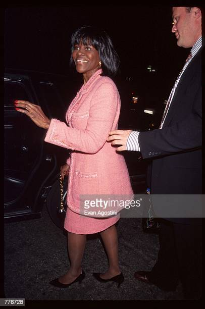 Emmy Award winner Cicely Tyson arrives at the premiere of the film The Pallbearer April 28 1996 in New York City The film which stars Gwyneth Paltrow...
