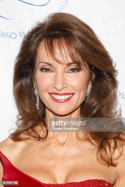 Emmy award winning actress Susan Lucci attends the 2009 Child Protection Agency's Gala at 583 Park Avenue on October 26 2009 in New York City