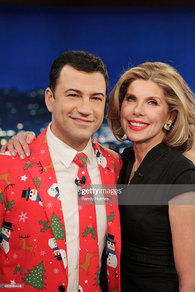 LIVE - Emmy Award-nominated 'Jimmy Kimmel Live' airs every weeknight (11:35 p.m. - 12:41 a.m., ET), packed with hilarious comedy bits and features a diverse lineup of guests including celebrities, athletes, musicians, comedians and humorous human interest subjects. The guests for THURSDAY, DECEMBER 18 included comedian Mel Brooks ('Mel Brooks: Live at the Geffen'), actress Christine Baranski ('Into The Woods') and musical guest Jenny Lewis.