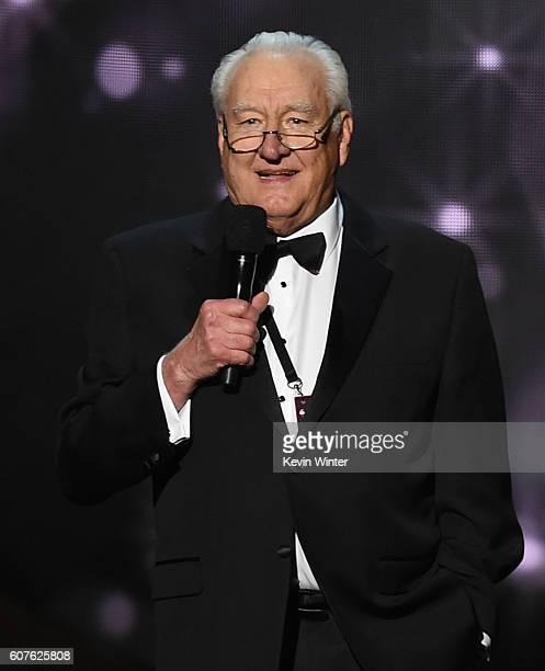 Emmy Awards show producer Don Mischer speaks onstage during the 68th Annual Primetime Emmy Awards at Microsoft Theater on September 18 2016 in Los...