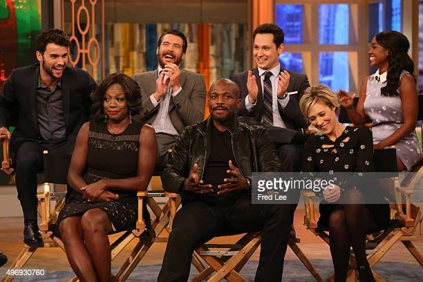 THE VIEW Emmy Awardwinner Viola Davis and the cast of How To Get Away With Murder are guests on THE VIEW 11/12/15 airing on the Walt Disney...