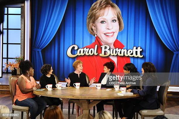 Emmy Awardwinning actress and author Carol Burnett discusses her new book 'In Such Good Company Eleven Years of Laughter Mayhem and Fun in the...