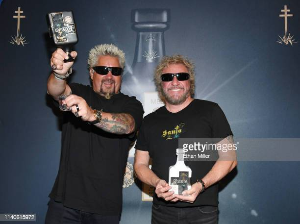 Emmy Awardwinning chef and television personality Guy Fieri and Rock Roll Hall of Fame inductee Sammy Hagar announce their partnership with Los Santo...