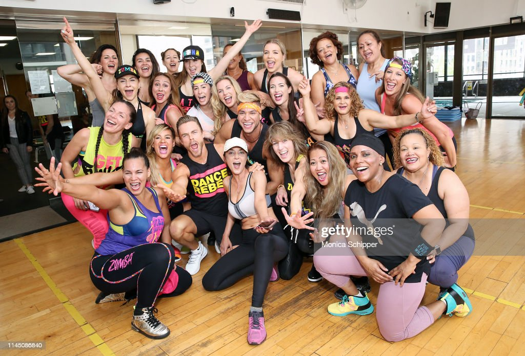 "NY: Derek Hough Joins Forces With Zumba Fitness To Kick-Off Global Movement ""Zumba Breaks"" In Advance of Mental Health Awareness Month By Surprising Boys & Girls Club Of America Employees With A Zumba Break"