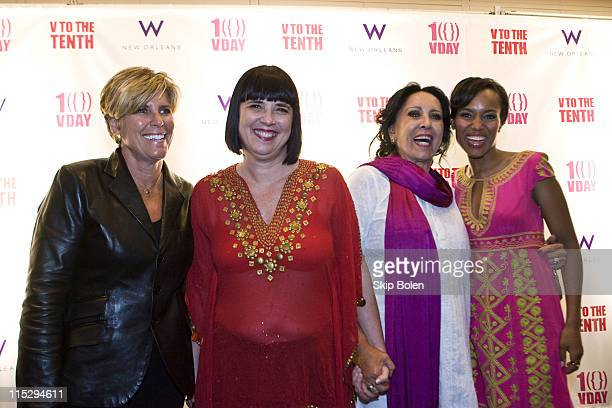Emmy Awardwinning television host New York Times bestselling author magazine and online financial columnist Suze Orman VDay Founder and The Vagina...