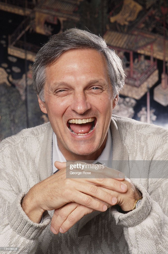 Actor Alan Alda Portrait Session : News Photo
