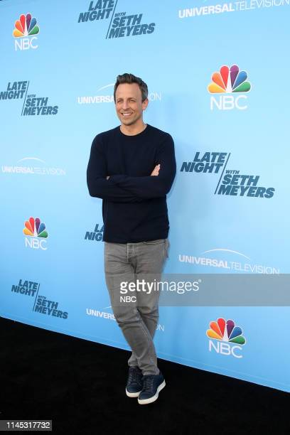MEYERS Emmy FYC Event Pictured Seth Meyers at the Saban Media Center at the Television Academy on May 17 2019