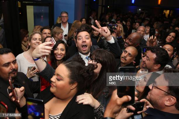 Emmy FYC Panel -- Pictured: Jimmy Fallon at the Writers Guild Theater on May 3, 2019 --
