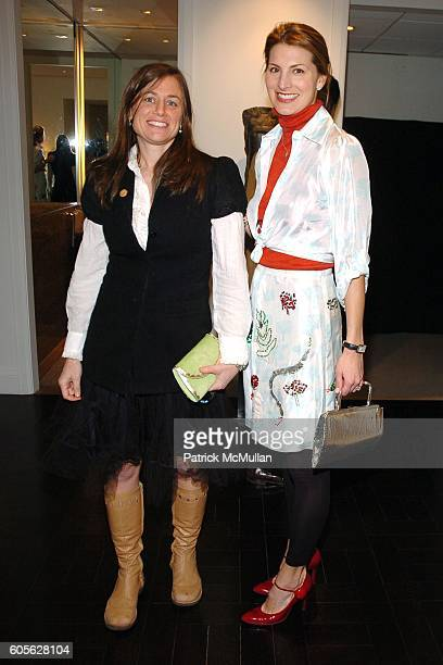 Emmy Kenan and Blair Clarke attend Peter Marino and Orin Wilf Host Cocktails to Honor Sculptors Claude and FrancoisXavier LALANNE at 530 East 88th St...