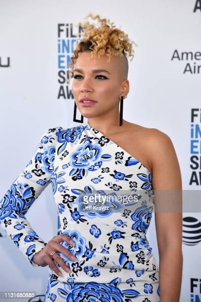 Emmy RaverLampman attends the 2019 Film Independent Spirit Awards on February 23 2019 in Santa Monica California