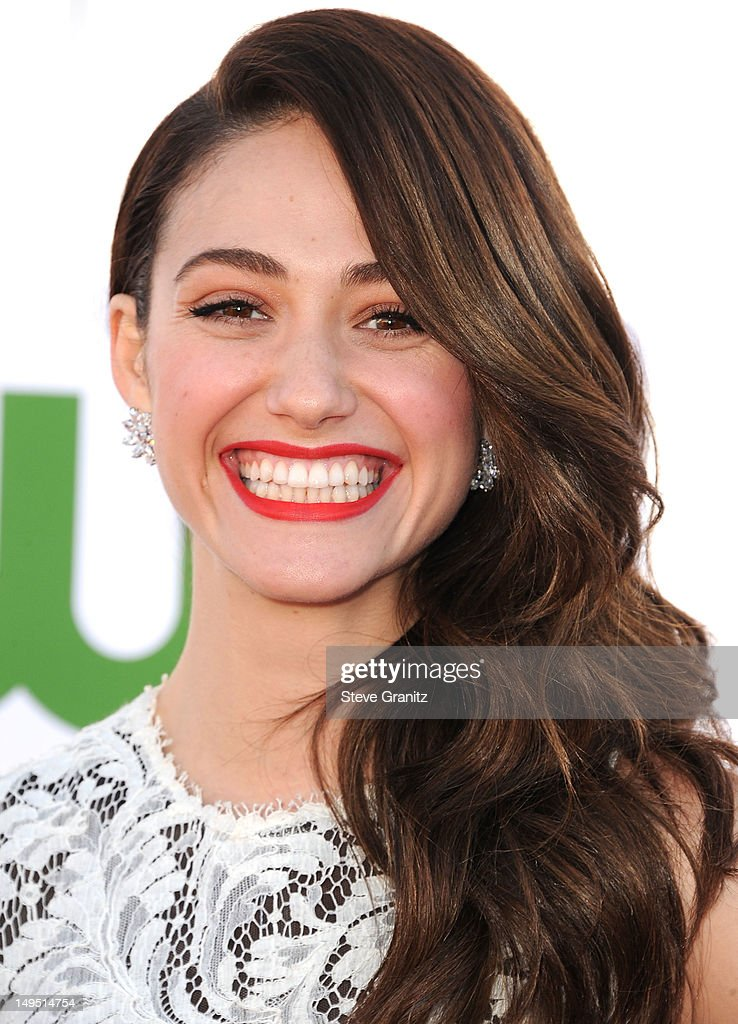 Emmy Rossum arrives at the 2012 TCA Summer Tour - CBS, Showtime And The CW Party at 9900 Wilshire Blvd on July 29, 2012 in Beverly Hills, California.