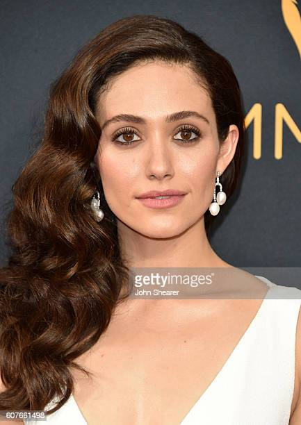 Emmy Rossum arrives at the 68th Annual Primetime Emmy Awards at Microsoft Theater on September 18 2016 in Los Angeles California